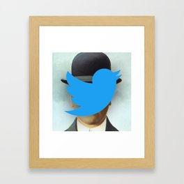 Son of Tweet Framed Art Print