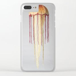 Giant Jellyfish Clear iPhone Case