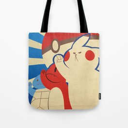 """WE WILL CATCH EM' ALL"" Propaganda Tote Bag"