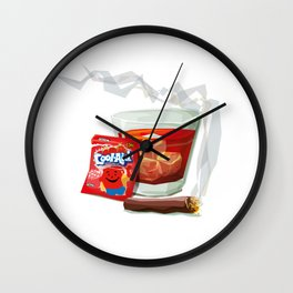 A Gentleman's Drink Wall Clock