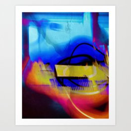 Explosionar Art Print