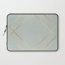 Golden squares Laptop Sleeve