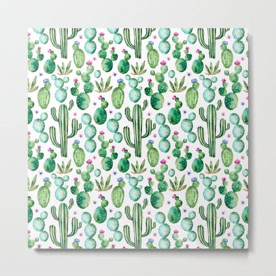 Cactus Oh Cactus Metal Print