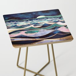 Moonlit Ocean Side Table