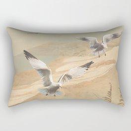 Gulf Coast Gulls Rectangular Pillow