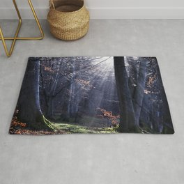Fairy tale, forest landscape Rug