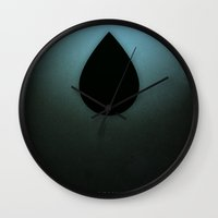 prometheus Wall Clocks featuring Smooth Minimal - Prometheus by Greg-guillemin