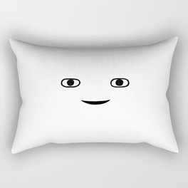 Hi Stranger Face Rectangular Pillow