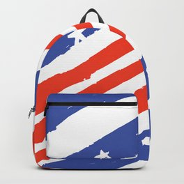 USA Flag Pattern Backpack