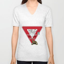 Yield to the whispers of your soul Unisex V-Neck
