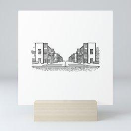 Kahn - Salk Institute Sketch (B) Mini Art Print