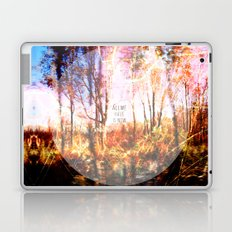 This is only Temporary by Debbie Porter Laptop & iPad Skin