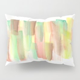 [161228] 21. Abstract Watercolour Color Study |Watercolor Brush Stroke Pillow Sham