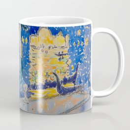 Venice Night of the Festival of the Redeemer Henri-Edmond Cross Neo-Impressionism Pointillism Coffee Mug