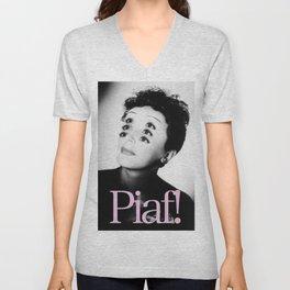Piaf! Unisex V-Neck