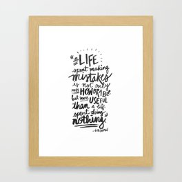 -George Bernard Shaw Framed Art Print