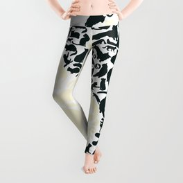 Yin-Yang Cats - FELT Leggings