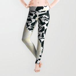 Yin-Yang Cats - FELT Leggings