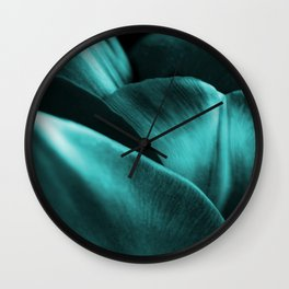 Green Succulent Leaves #decor #society6 #homedecor Wall Clock