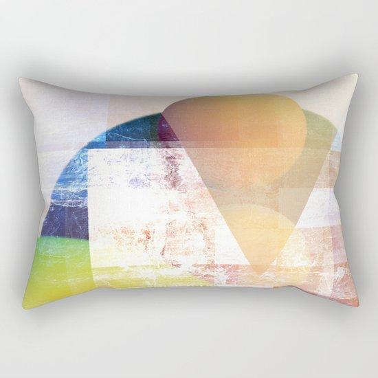 Peaches on Spitzbergen Rectangular Pillow