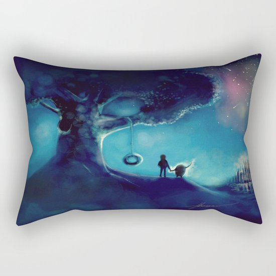 That's where you came from ! Rectangular Pillow