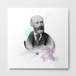 Nameless man Metal Print