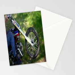 Spinning Chrome Stationery Cards