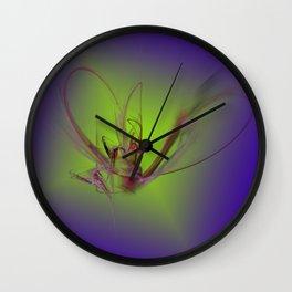 Butterfly 7 Wall Clock