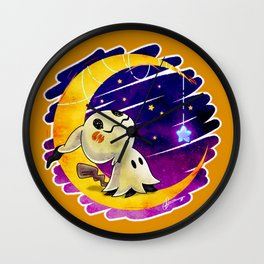 Wish Upon A Mimikyu Wall Clock