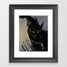 Darkblade Wolverine Framed Art Print