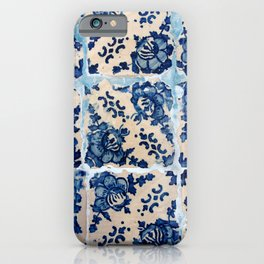Portuguese Azulejo tiles iPhone Case