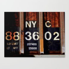 NYC 88 36 02 Canvas Print