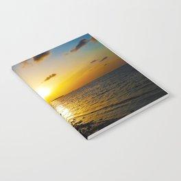 Seashore Serenity at Sunset Notebook