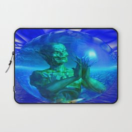 Monster in a Bubble Laptop Sleeve