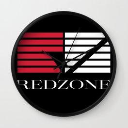 Redzone_02 Wall Clock