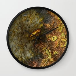 Bound in Fire Wall Clock