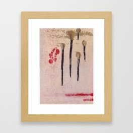 Haiku Framed Art Print
