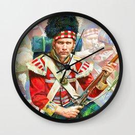 92nd Gordon Highlanders Wall Clock