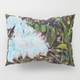 Blue Flowers Pillow Sham