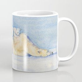 Sleeping Polar Bears Coffee Mug