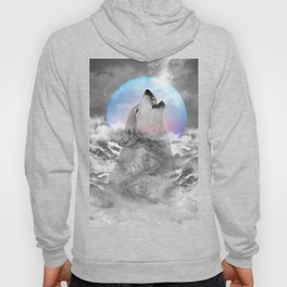 Maybe the Wolf Is In Love with the Moon Hoody