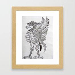 Liverbird Framed Art Print