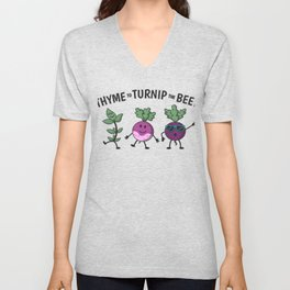 Thyme To Turnip The Beet Gift Unisex V-Neck