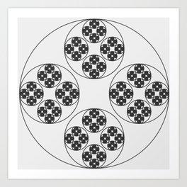 Circle Splendor 4 Art Print