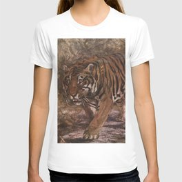 Vintage Tiger Painting (1909) T-shirt