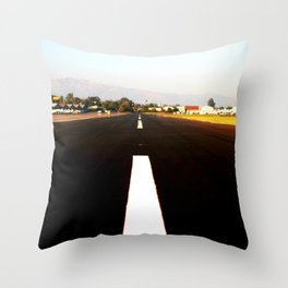 Runway Throw Pillow