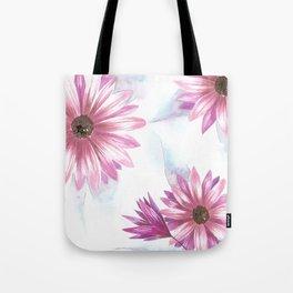 Watercolor Gerbera Tote Bag