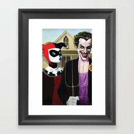 Why So American Gothic? Framed Art Print