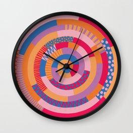 Summer Hues Wall Clock