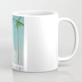 Florida Palms travel poster, Coffee Mug